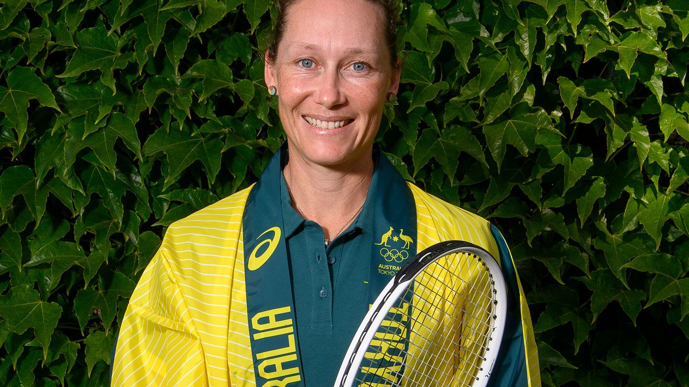 Sam Stosur will become the first Australian tennis player to compete at five Olympic Games.