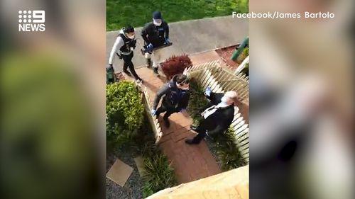 Arrests made at Melbourne anti-lockdown protests