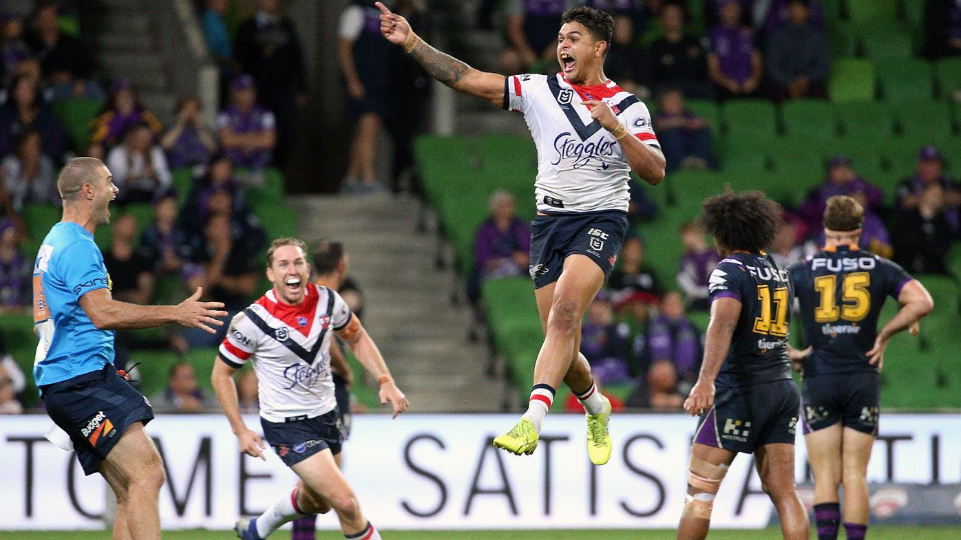NRL: Latrell Mitchell golden point heroics hands Melbourne first loss of season in 2018 GF rematch