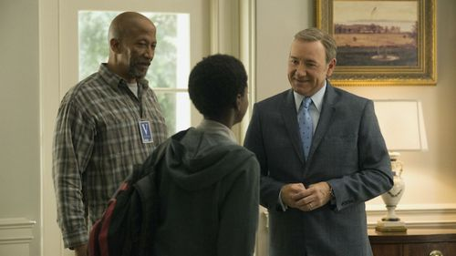 Reg E. Cathey played Freddy on 'House of Cards'. (Netflix)