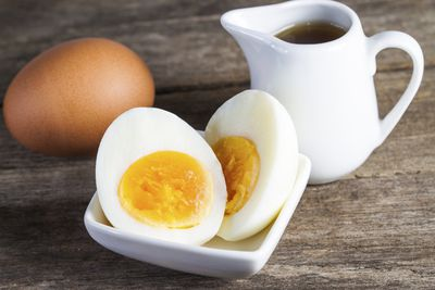 <strong>Hard-boiled eggs</strong>