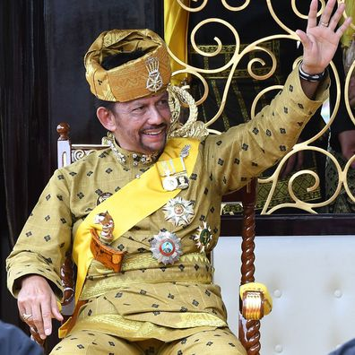 Sultan of Brunei marks Golden Jubilee with lavish royal