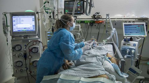 Many coronavirus patients need a ventilator to breathe.