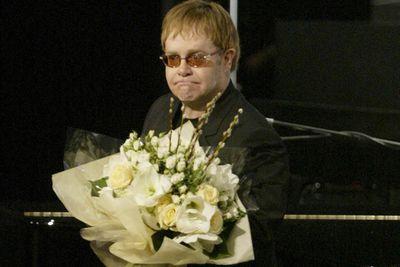 Does Elton John smell or something?  The OTT singer spent over $200k on flowers between '96 and '97.