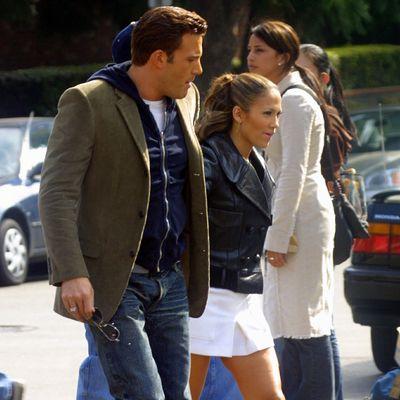 Ben Affleck and Jennifer Lopez: October 2002