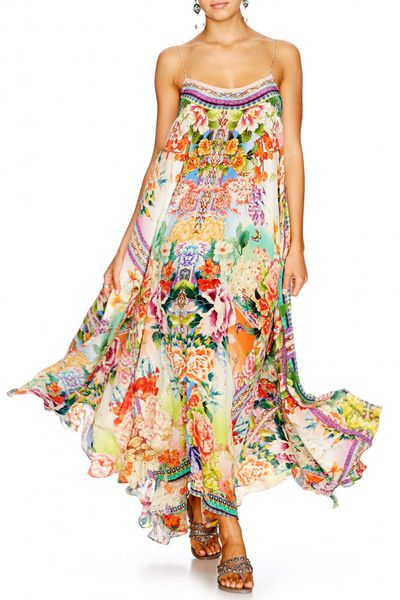 "<strong><a href=""http://www.camilla.com/au/collection/all/flower-hour-full-hem-long-dress-711ldsc057-flohour.html"" target=""_blank"">Camilla</a></strong> flower hour dress, $559<br />"
