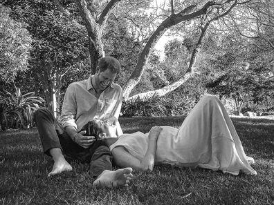 Harry and Meghan pregnancy photo taken by Misan Harriman.