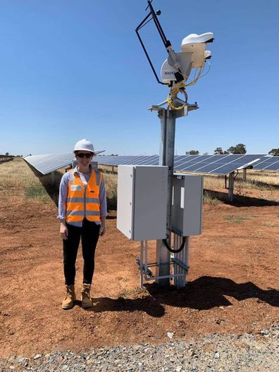 Melissa environmental engineer outdoors