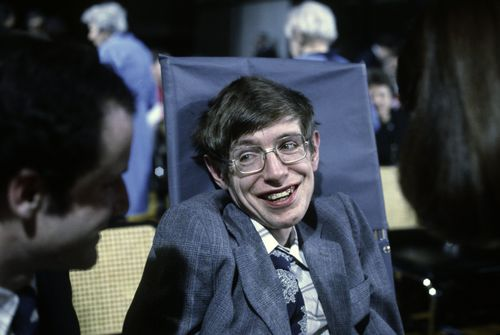 Professor Hawking in New Jersey in 1979. (AAP)