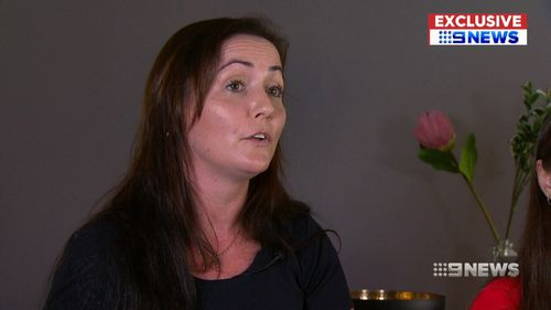 Hannah's mum Casey said not being able to help her daughter was the hardest part. (9NEWS)