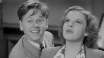 Rooney starred alongside some of Hollywood's most famous actors, including Judy Garland.
