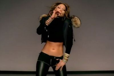Nobody rocks a midriff like JLo did in 2004 clip for 'Get Right'.