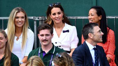 The Duchess of Cambridge on Day 2 of Wimbledon 2019