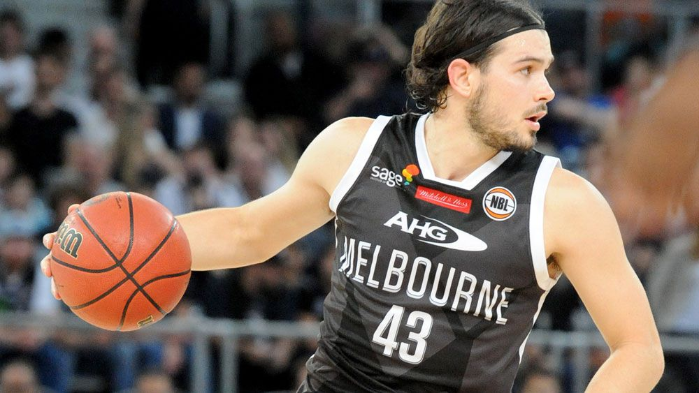 Chris Goulding helped Melbourne United to a strong win. (AAP)