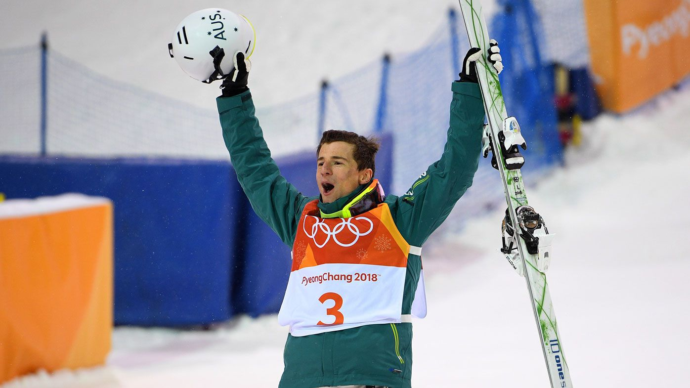 Australian Matt Graham takes silver in men's moguls at Winter Olympics
