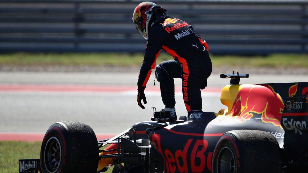 Australia's Red Bull driver Daniel Ricciardo out of F1 US Grand Prix with engine failure