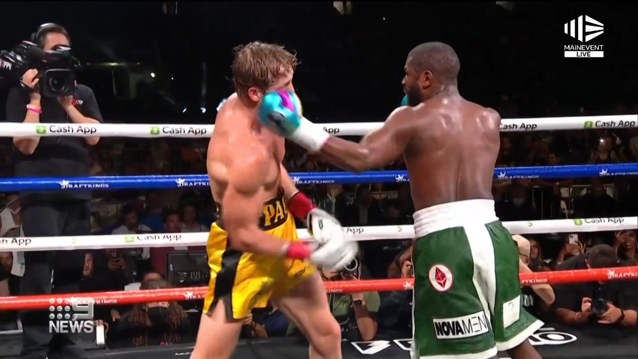 Floyd Mayweather reveals how much he made for 'fake fight' with Logan Paul
