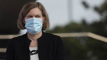 Dr Kerry Chant warned during a coronavirus update today that Sydney residents should get used to wearing masks indoors.