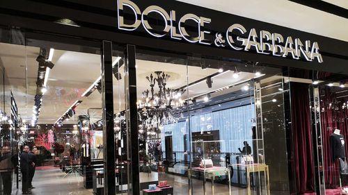A Dolce & Gabbana store in Beijing.