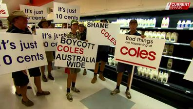 Coles has ripped off farmers by millions of dollars.