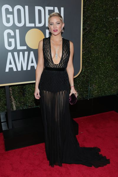 Actress Kate Hudson in Valentino