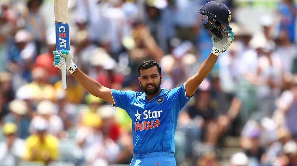 Sharma notches back to back ODI tons