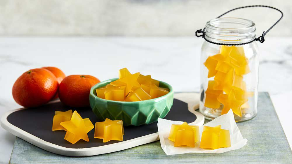 Mandarin gummies