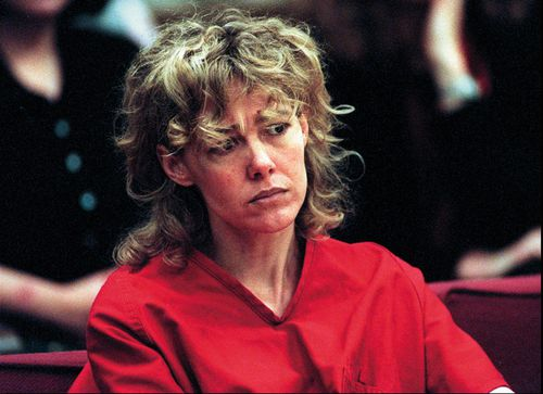 Mary Kay LeTourneau listens to testimony during a court hearing in Seattle in 1998. Picture: AAP