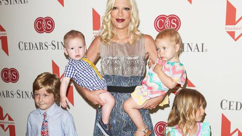 Tori Spelling's famous friends boycott her kids' parties … because of the reality TV cameras!