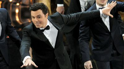 "'Family Guy' creator Seth MacFarlane: """"Congratulations America for finally catching up to the modern era with this landmark step forward for gay and lesbian rights."" (AAP)"