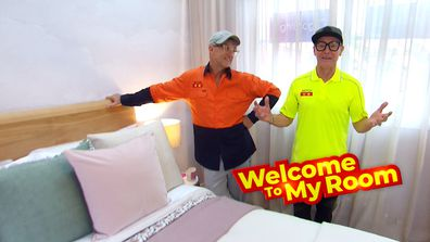 Welcome To My Room: Mitch and Mark's Guest Bedroom is about 'peace and relaxation'