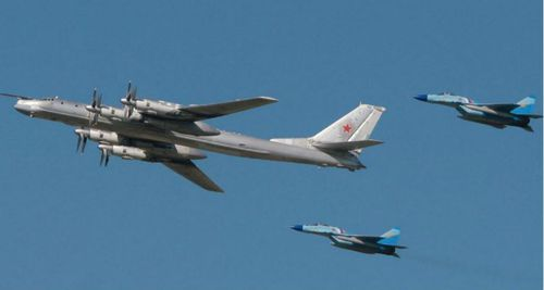 Russian bombers spotted off Alaskan coast for second time in 24 hours