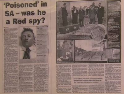 How the media covered the Somerton Man mystery