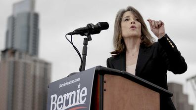 Marianne Williamson is a prominent endorser of Bernie Sanders.