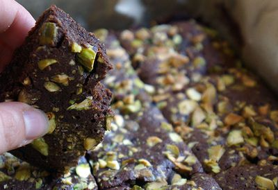 Christie Connelly's coconut flour brownies