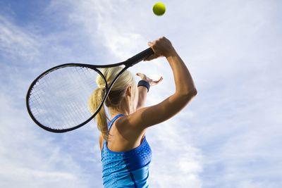 Pick up a racquet