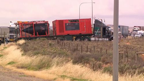 The truck driver, a 51-year-old Angle Vale man, was not injured and is assisting police with their investigation.
