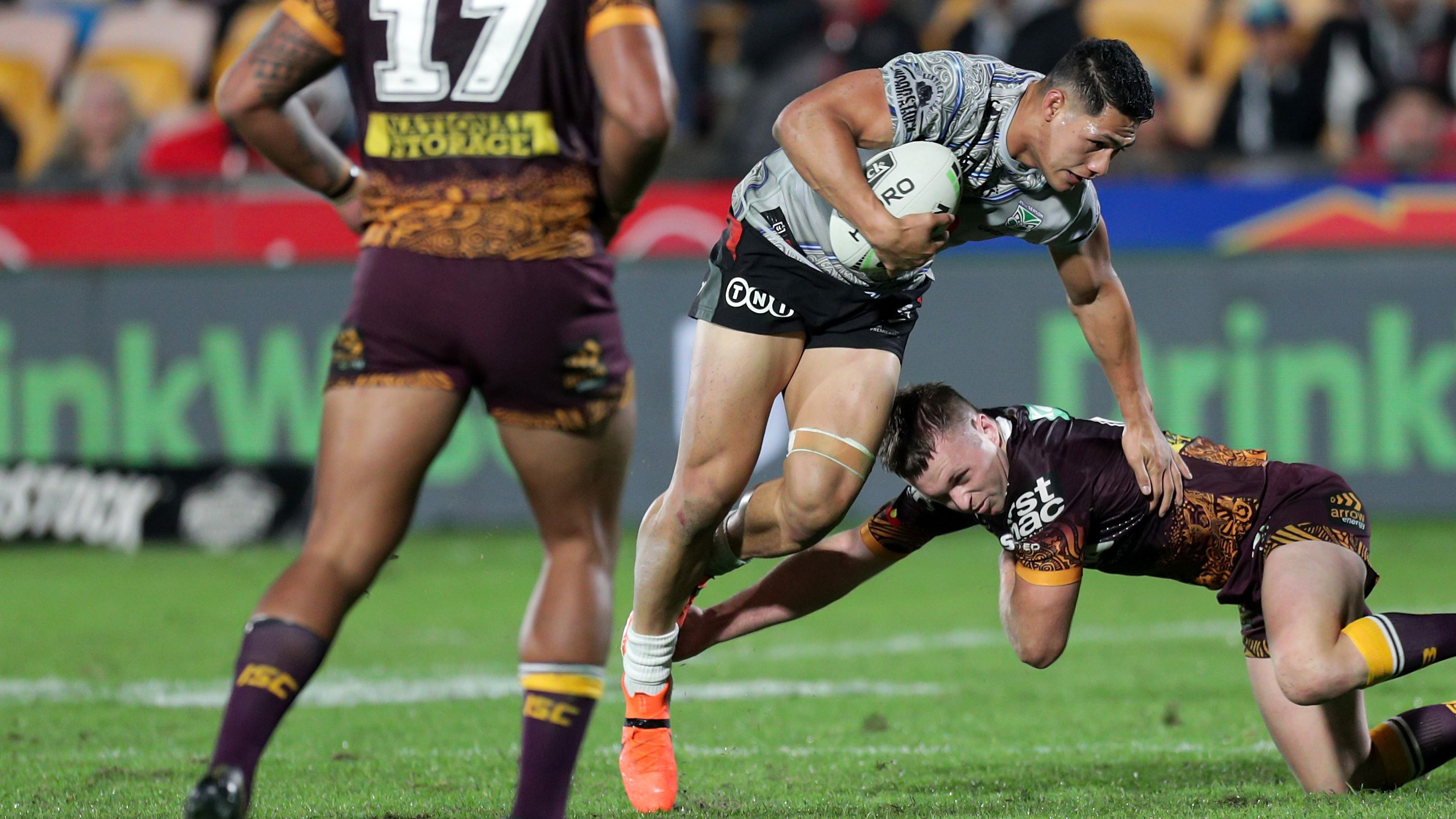 Haas goes beast mode to push Origin claims in gritty win over Warriors