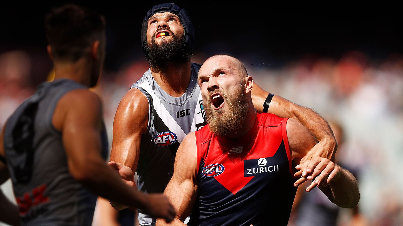 How Patrick Ryder and Scott Lycett 'bullied' Melbourne star Max Gawn in Round 1 boilover