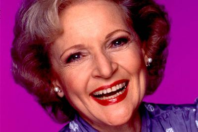 """<B>Later starred in...</B> <I>The Golden Girls</I>. Her character, a kind but dim old lady called Rose, is much closer to the """"Betty White persona"""" we're all familiar with today. Before shooting the first episode, Betty and Rue McClanahan — who up till that point was known for playing sweet scatterbrains — decided to freshen things up by swapping roles. And TV history was made!"""