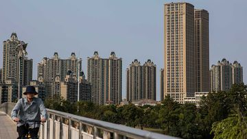 Evergrande, China's largest property developer, is facing a liquidity crisis with total debts of around A$400 billion.