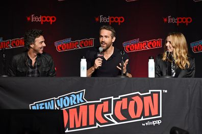 Ryan Reynolds, Shawn Levy, Jodie Comer, Free Guy, Comic Con