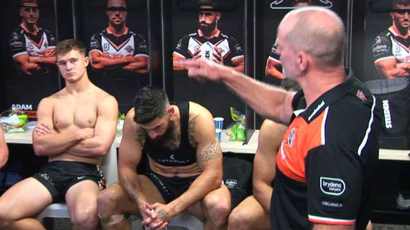 Michael Maguire rips 'embarrassing' Tigers in post-match spray after loss to Titans