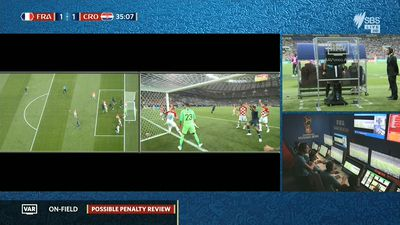 World Cup final: Referee scolded after controversial calls mar first-half