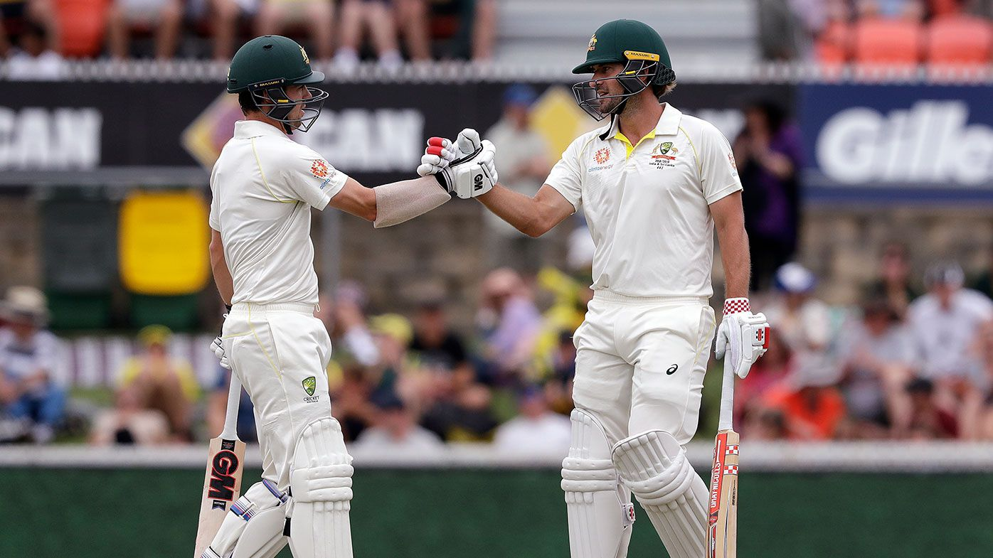 Burns, Head lead Aussie revival in second Test
