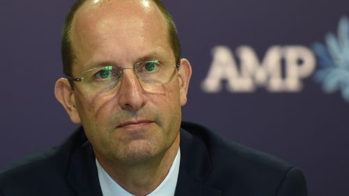 Last week the chief executive of AMP Craig Meller resigned after the commission revealed this company had repeatedly mislead the corporate regulator, the Australian Securities and Investment Commission. (AAP)