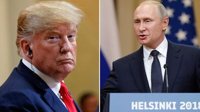 Trump says Putin 'extremely strong' in election meddling denial