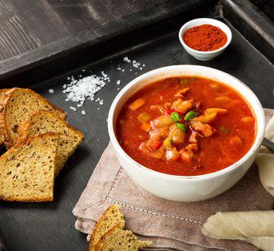 Susie Burrell's detox soup recipe