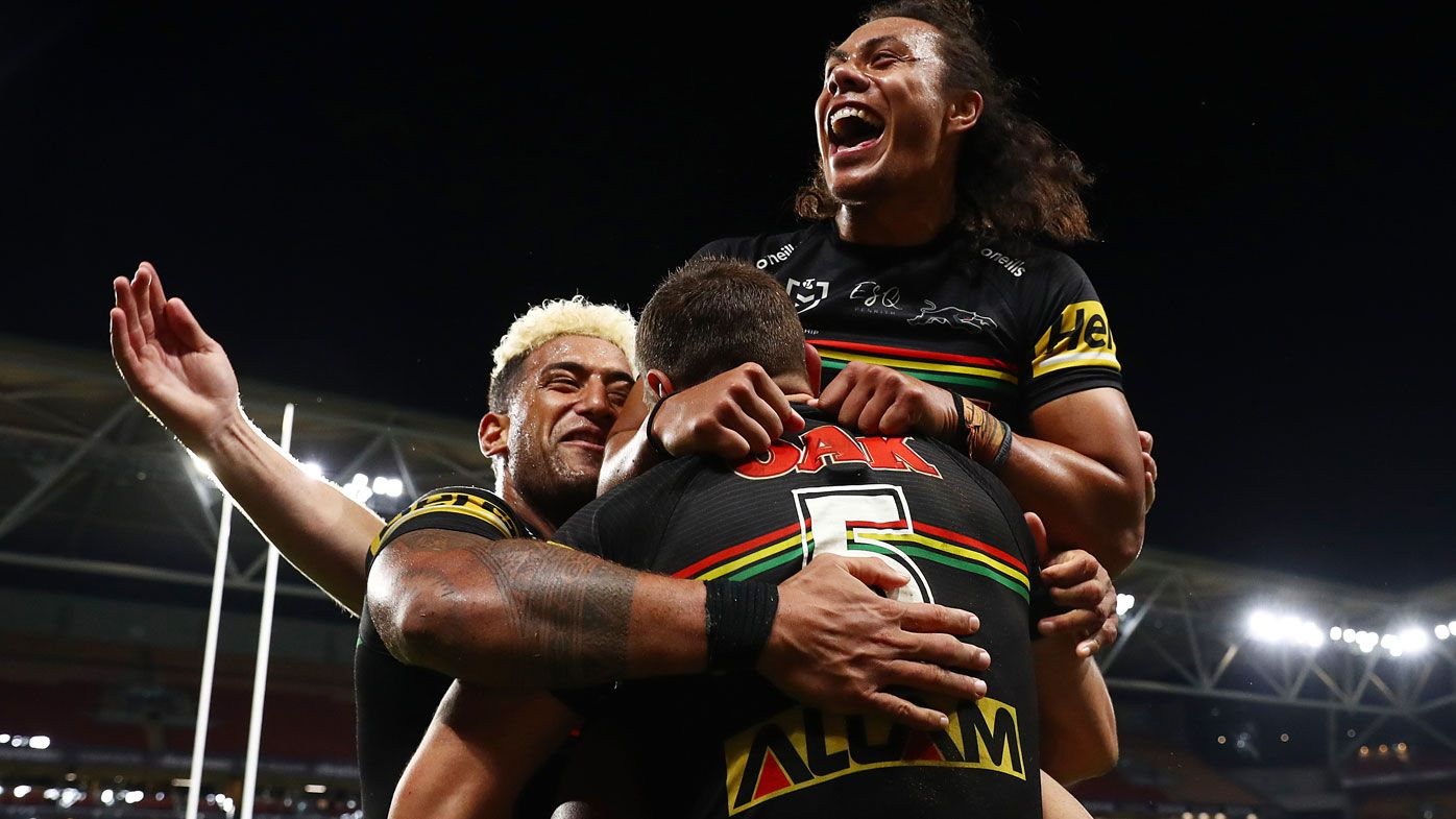 Panthers down the Rabbitohs.