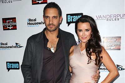 Paris Hilton's aunt Kyle Richards has been a favourite on the Beverly Hills show and seemed to have the perfect husband and four kids. Until, her husband is accused of having a three-way with a transgender prostitute and a female escort.  Eek! They've both repeatedly denied the rumors and continue to live (seemingly) in wedded bliss.